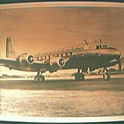 Vintage BCPA Airlines Photo Circa 1946 -948