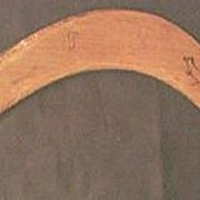 "Vintage Aboriginal Souvenir ""Returning Boomerang"""