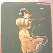 Rare Victorian Large Portrait Size Cigarette Card Turkish Trophies.