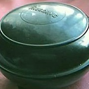 Vintage Faulding Brand Bakelite Shaving Creme  Container Circa 1930's-40's