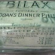 """Victorian Period  Australian Quack Pills """"Bilax"""""""