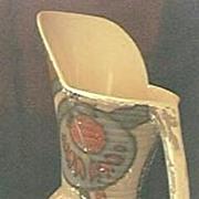 "Vintage English Pottery ""Ranleigh"" Art Deco Jug / Vase Circa 1920's"