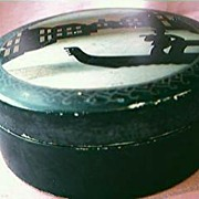Venetian Scene Collar Box Circa 1930's
