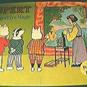 Rupert & Tigerlily's Magic Pop Up Book 1974