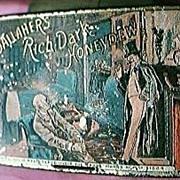 """Vintage """"Gallahers Rich Dark Honeydew"""" Tobacco Tin"""