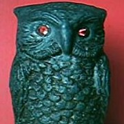 Vintage Unusual 1920's RADIO OWL