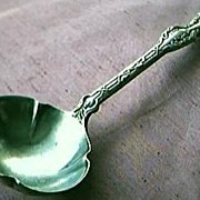 Lovely Edwardian Silver Plated Ladle Circa 1906