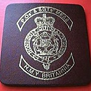 HMY Britannia Rare Souvenir Drinks Coaster