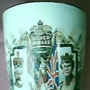 1935 King George V & Queen Mary Silver Jubilee Beaker