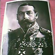 King George V Postcard