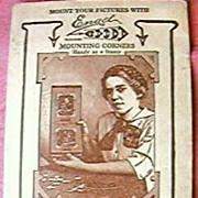 Vintage Packet Engel Photo Corners