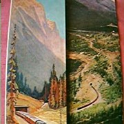 Canadian Pacific Railways Advertising Brochures 1940's