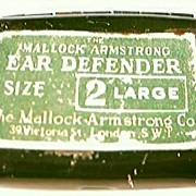 Vintage WW11 Era  Mallock-Armstrong Ear Defender Kit