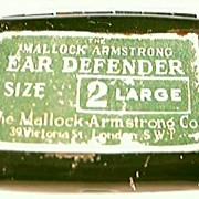 Vintage WW11 Era  Mallock-Armstrong Ear Defender Kit