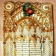 Victorian Gilt Friendship Card