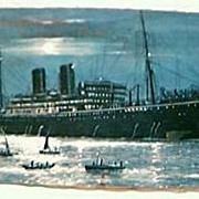 Shipping Liner Postcard S.S. MOLDAVIA 1937