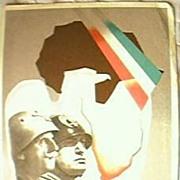 IL DUCE Benito Mussolini Patriotic Postcard 1930's