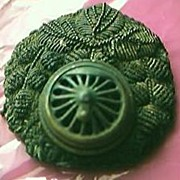 Japanese Train Drivers  Vintage Hat Badge Circa 1940's