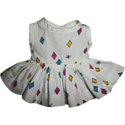 Tagged Tiny Terri Lee Pique Diamond Dress