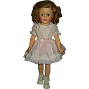"Vintage Original Vinyl 15"" Ideal  Shirley Temple Doll"
