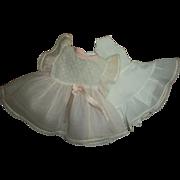 SALE PENDING Vintage Original Effanbee Organdy Patsy Dress With Original Slip/Pantie