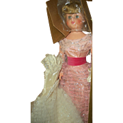 Gorgeous Unplayed With Betty The Beautiful Bride In Box With 2 Dresses and Accessories