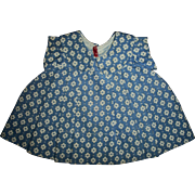 SALE PENDING Rare Blue Ideal Shirley Temple Flower Print Dress NRA Tagged