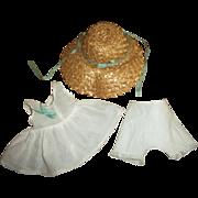 Wonderful Original Arranbee Hat With Original Slip and Panties For Composition Nancy Lee