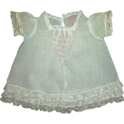 """Vintage Older Tagged Effanbee Baby Doll Dress Fits 15"""" Dy-Dee"""