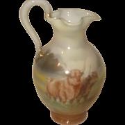 SALE Royal Bayreuth Porcelain Pitcher