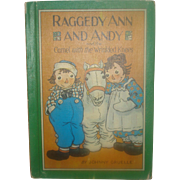 SALE Raggedy Ann & Andy  Camel with the Wrinkled Knees