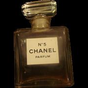 SOLD Miniature Chanel No 5 Perfume Bottle