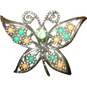 SALE Vintage Sarah Coventry Butterfly Pin