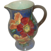 SALE Royal Doulton Porcelain Pitcher Wild Rose