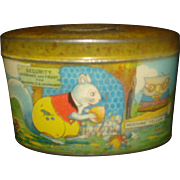 SALE PENDING Child's Tin Savings Bank Happy Jack