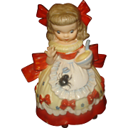SALE Napco Little Miss Muffet Figurine