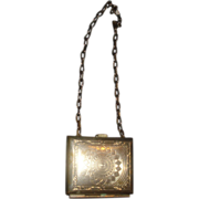 SALE Small Metal Purse for Child or Doll