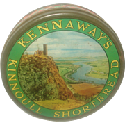 SALE Tartan Plaid Shortbread Tin Kennaway's Kinnoull