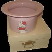 SALE Vintage Graniteware / Enamelware Potty