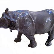1930s Britains 908 Rhinoceros in Lead
