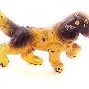 Great 1920s Lead English Spaniel Dog