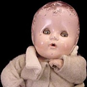 """1930s 11"""" Composition Baby Doll"""