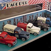Solido L'Age D'Or Trucks Mint in Box