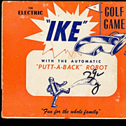 """IKE"" Electric Golf Game - 1940s"