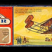 "1973 Wright Brothers ""1903 Flyer"" Balsa Wood Airplane Kit"