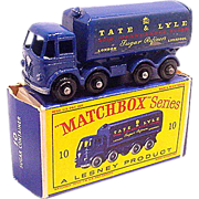 1960s Matchbox 10 Tate & Lyle Sugar Container Truck in Box