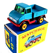 1960s Matchbox No 49 Unimog in Box