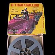 """If I Had a Million"" W C Fields 8mm Movie in Box"