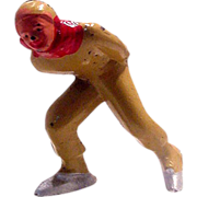 Barclay Man Speed Skater in tan