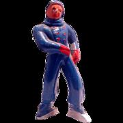(B176) Barclay Boy Figure Skater in Blue